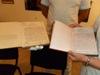 Предаване копие от дневника на отец Савва Иванов