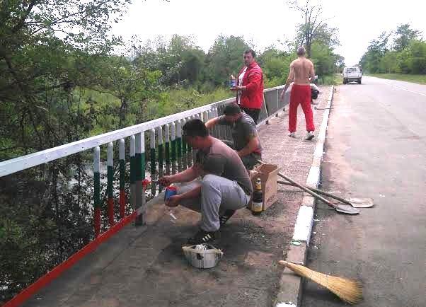 ВМРО с инициатива по облагородяване на моста край Горно Сахране Публикувано в Pavelbanya.eu