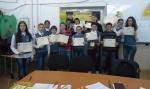 Ученици от СОУ 'Христо Ботев' - Павел баня участва в състезанието Spelling Bee 2015