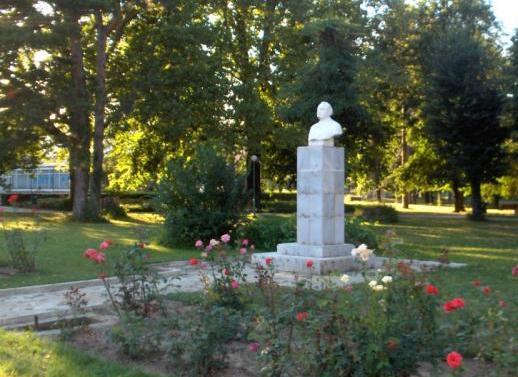 Бюст-паметник на ГЕОРГИ ДИМИТРОВ в Павел баня