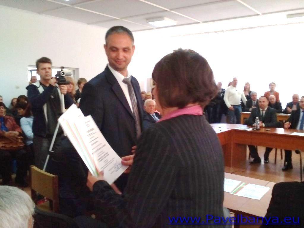 Съветниците от ГЕРБ - Павел баня са гласували за Недка Кавръкова Публикувано в Pavelbanya.eu